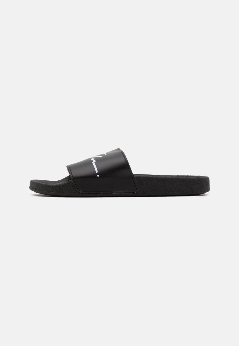 Topman - BLADE SLIDER - Sandały kąpielowe - black