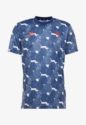 TAN - T-shirt con stampa - blue