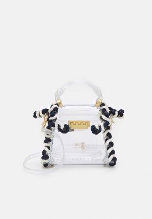 EARTHA MINI TOP HANDLE CROSSBODY - Handbag - transparent