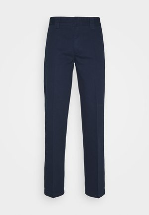 DOT WORKPANTS - Trousers - dark navy