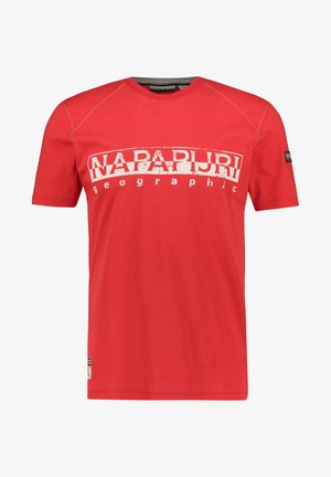 SISHOP - Print T-shirt - red