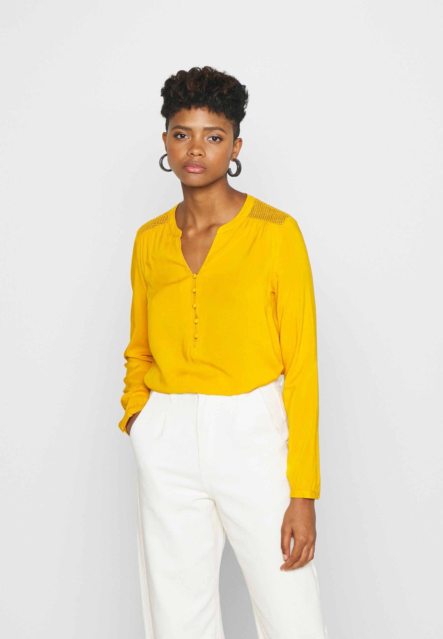 Gule Bluser & skjorter | Dame | Nye kolleksjoner online på