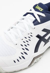 ASICS - GEL-CHALLENGER 12 - Multicourt tennis shoes - white/peacoat - 5