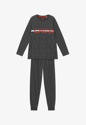 PYJAMA LONG - Pyžamová sada - schiefer