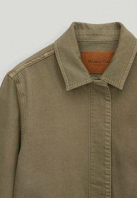 Massimo Dutti - Button-down blouse - khaki - 2