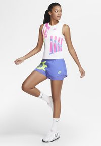 Nike Performance - SLAM SHORT - Sports shorts - sapphire/hot lime