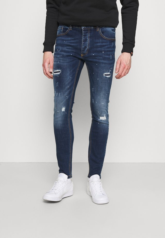 LARKIN - Jeans slim fit - indigo blue