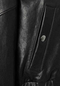 Laurel - Leather jacket - schwarz - 2
