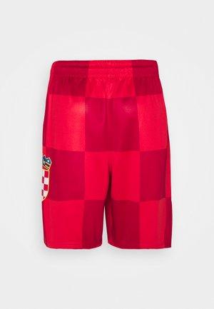 CROATIA TEAM SWINGMAN SHORT - Squadra nazionale - university red/white