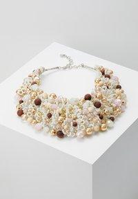 ALDO - ARVAN - Ketting - brown/blush/crystal - 0