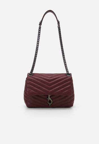 EDIE XBODY STUDS - Handbag - cherrywood