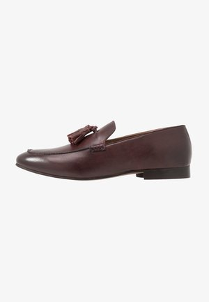BOLTON TASSLE - Smart slip-ons - brown