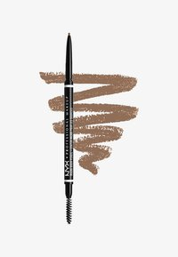 Nyx Professional Makeup - MICRO BROW PENCIL - Eyebrow pencil - 1 taupe - 0