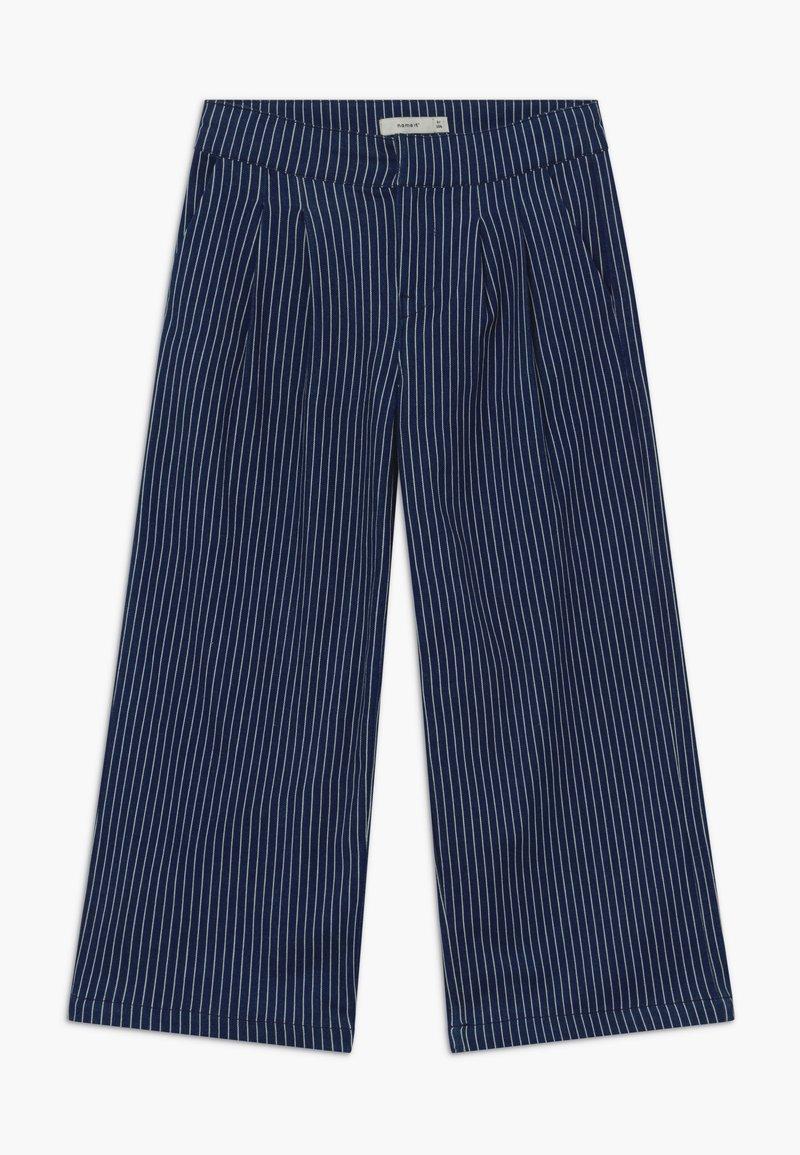 Name it - NKFATURLI CULOTTE - Straight leg jeans - dark blue denim
