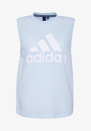 MUST HAVES SPORT REGULAR FIT TANK TOP - Treningsskjorter - sky tint/white