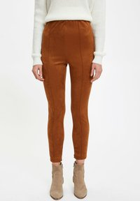 DeFacto - Leggings - brown - 0