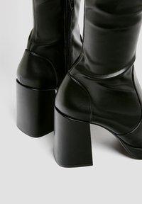 PULL&BEAR - High heeled boots - black - 3