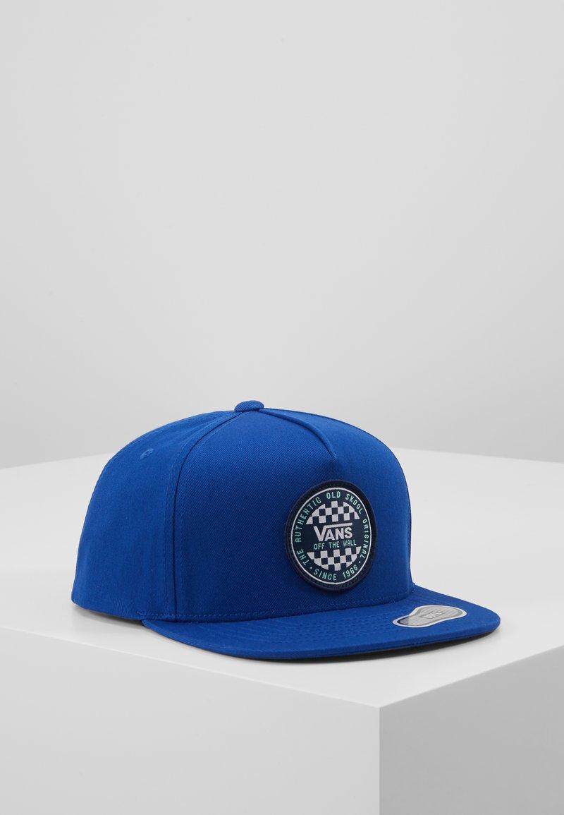 Vans - CHECKER SNAPBACK BOYS - Cappellino - sodalite blue