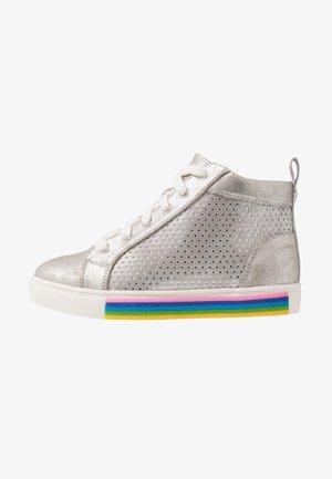JGROOVE - Sneakers hoog - silver