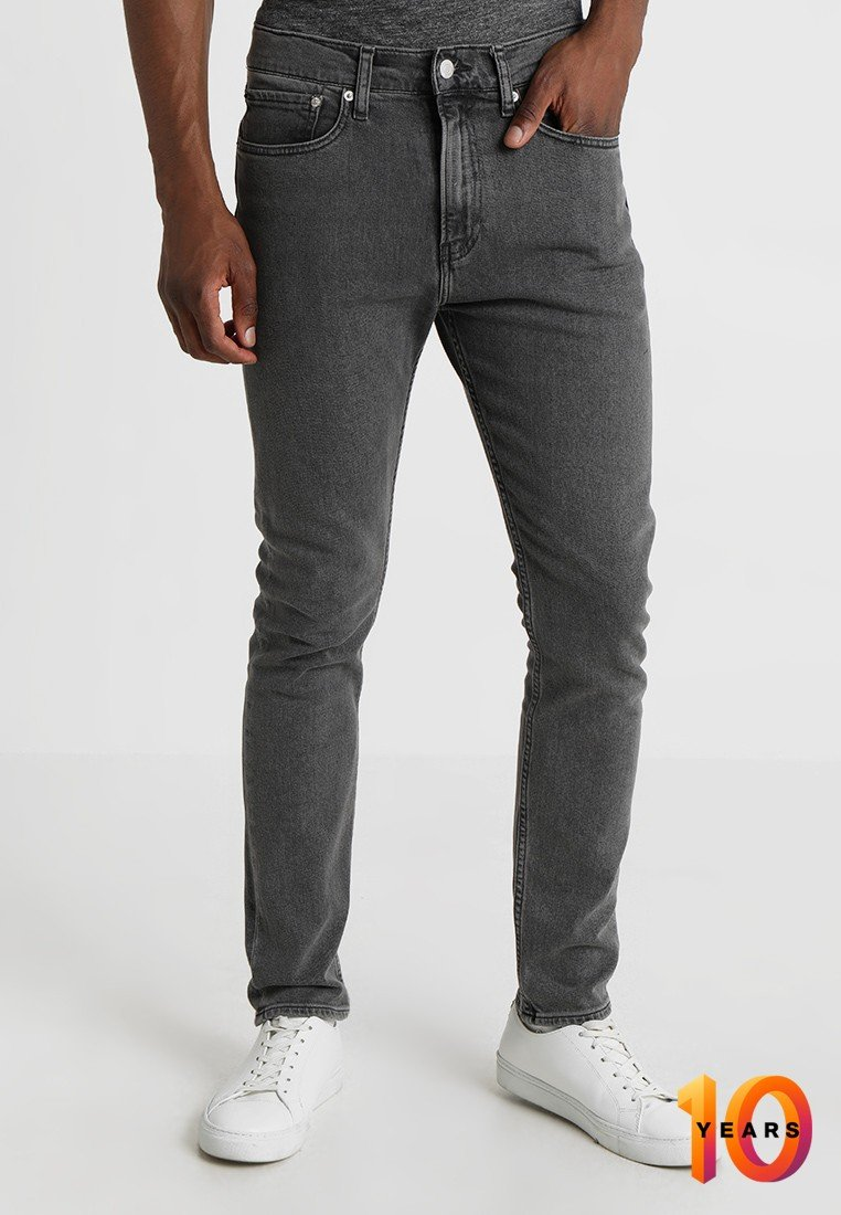 Calvin Klein Jeans - 016 SKINNY - Skinny džíny - copenhagen grey