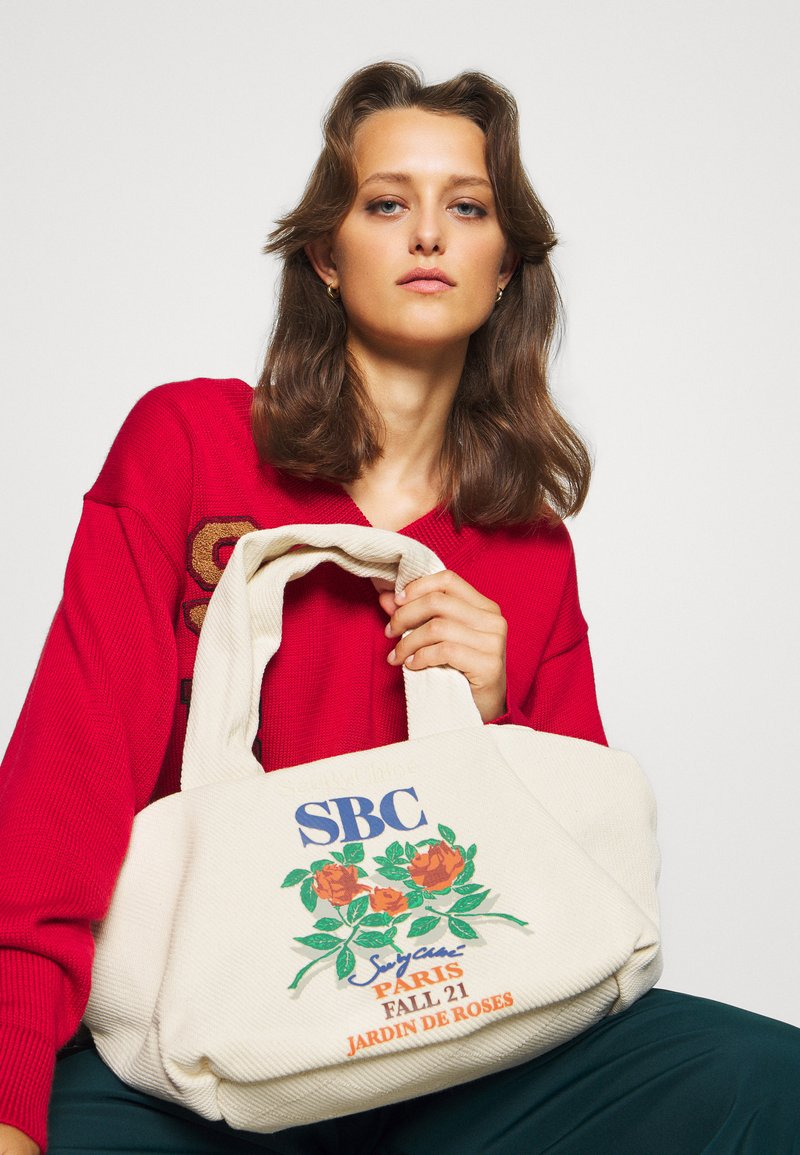 See by Chloé - TILLY TOTE - Tote bag - cement beige
