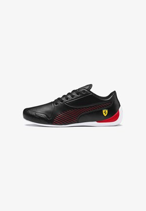 Baskets basses - puma black-rosso corsa