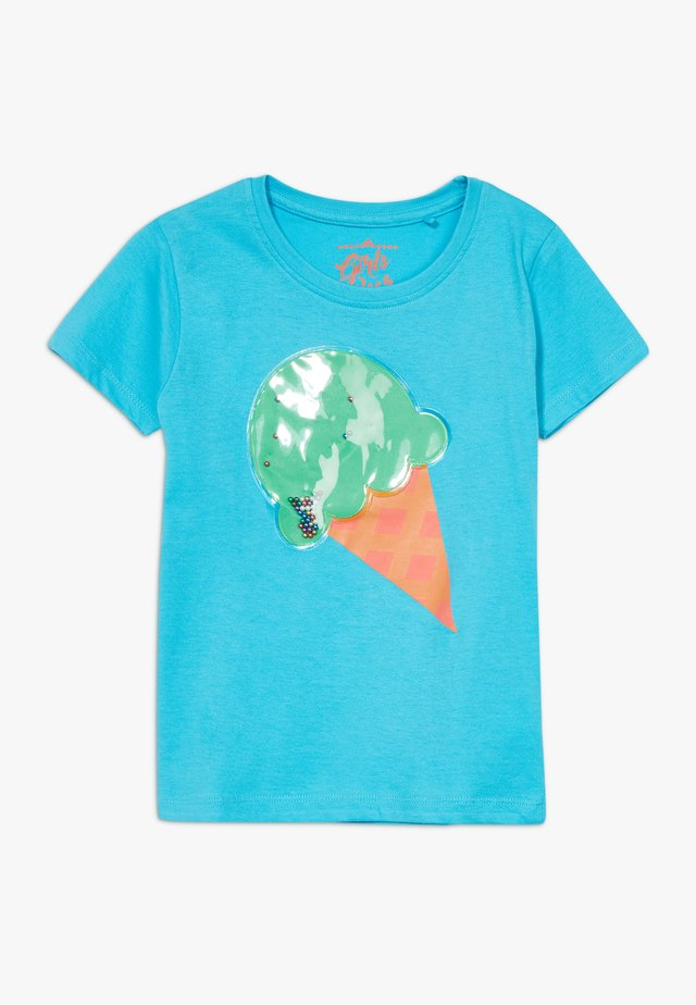 SMALL GIRLS  - T-shirt con stampa - bachelor button