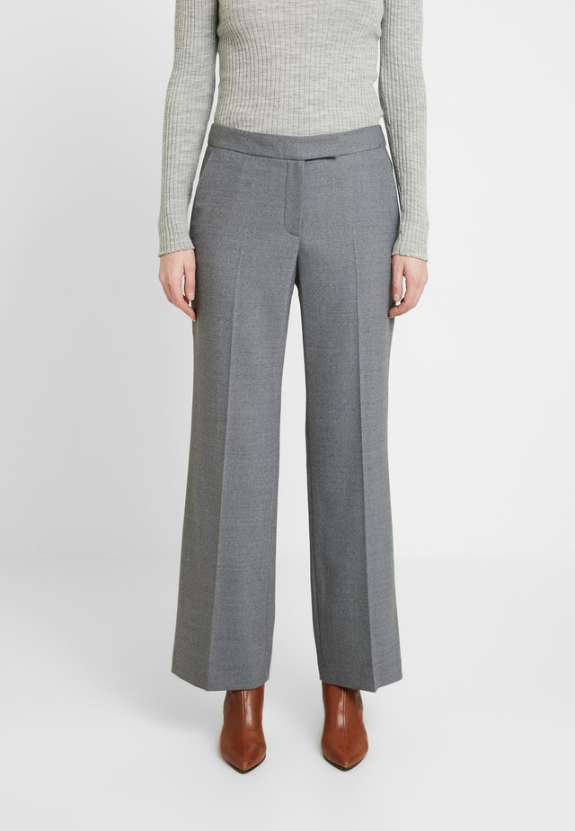 ADDISON TROUSER - Trousers - grey melange