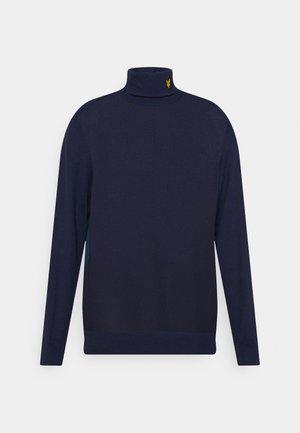 ROLLNECK - Jumper - aegean blue