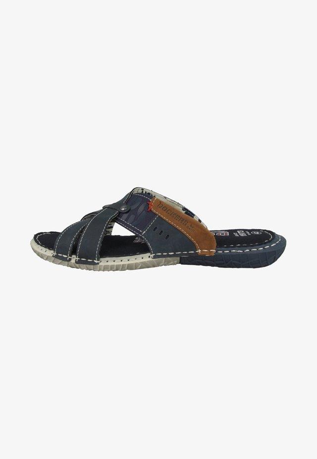 Pantofle - navy