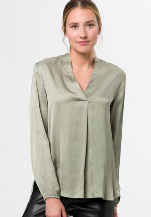 Blouse - dusted sage