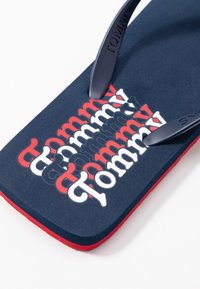 Tommy Jeans - SQUARE TOE BEACH  - Flip Flops - twilight navy - 2