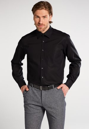 COMFORT FIT - Formal shirt - schwarz