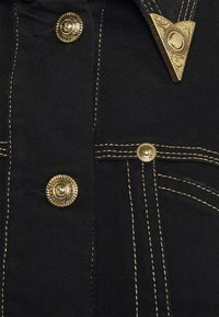 Versace Jeans Couture - LADY JACKET - Denim jacket - black - 7