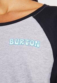 Burton - TUPLIN RAGLAN TEE  - Top sdlouhým rukávem - black - 4