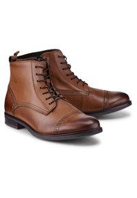Drievholt - Lace-up ankle boots - mittelbraun - 1