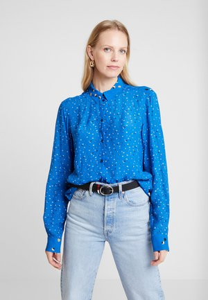 Overhemdblouse - radiant blue