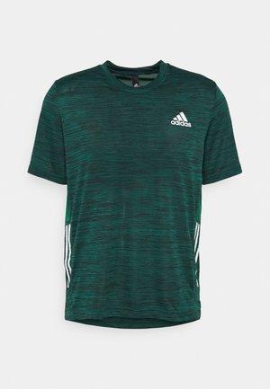 OUTDOOR - Print T-shirt - collegiate green