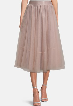 A-line skirt - rose nude