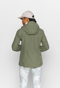 Vaude - ROSEMOOR - Hardshell jacket - fango - 2