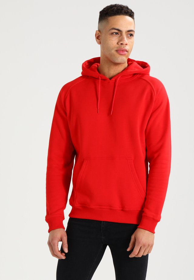 BLANK HOODY - Sweat à capuche - red