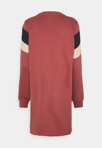 ONLY - ONLDAKOTA O NECK DRESS - Day dress - apple butter/mahogany rose/night - 1