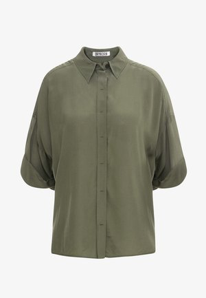 THERRY - Button-down blouse - olive