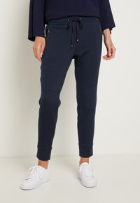 TOM TAILOR - ZIPPED PANTS - Bukse - sky captain blue - 0