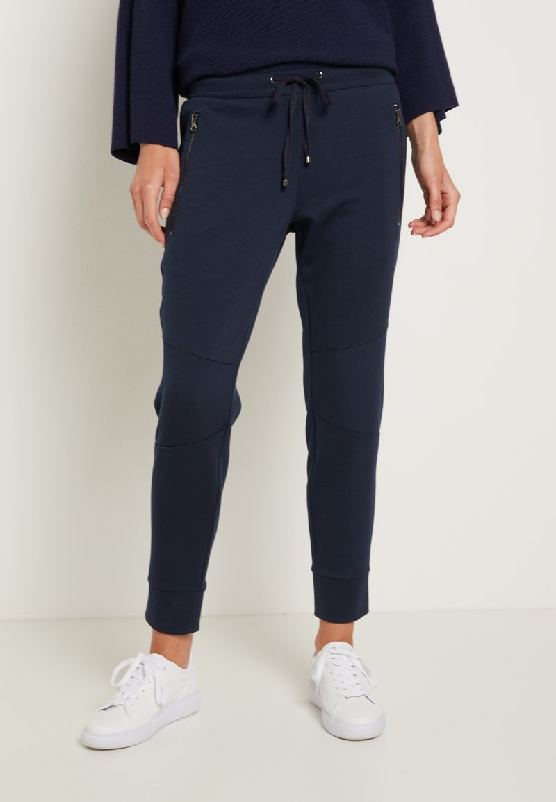 TOM TAILOR - ZIPPED PANTS - Bukse - sky captain blue