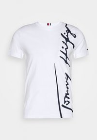 COOL SIGNATURE TEE - Print T-shirt - white