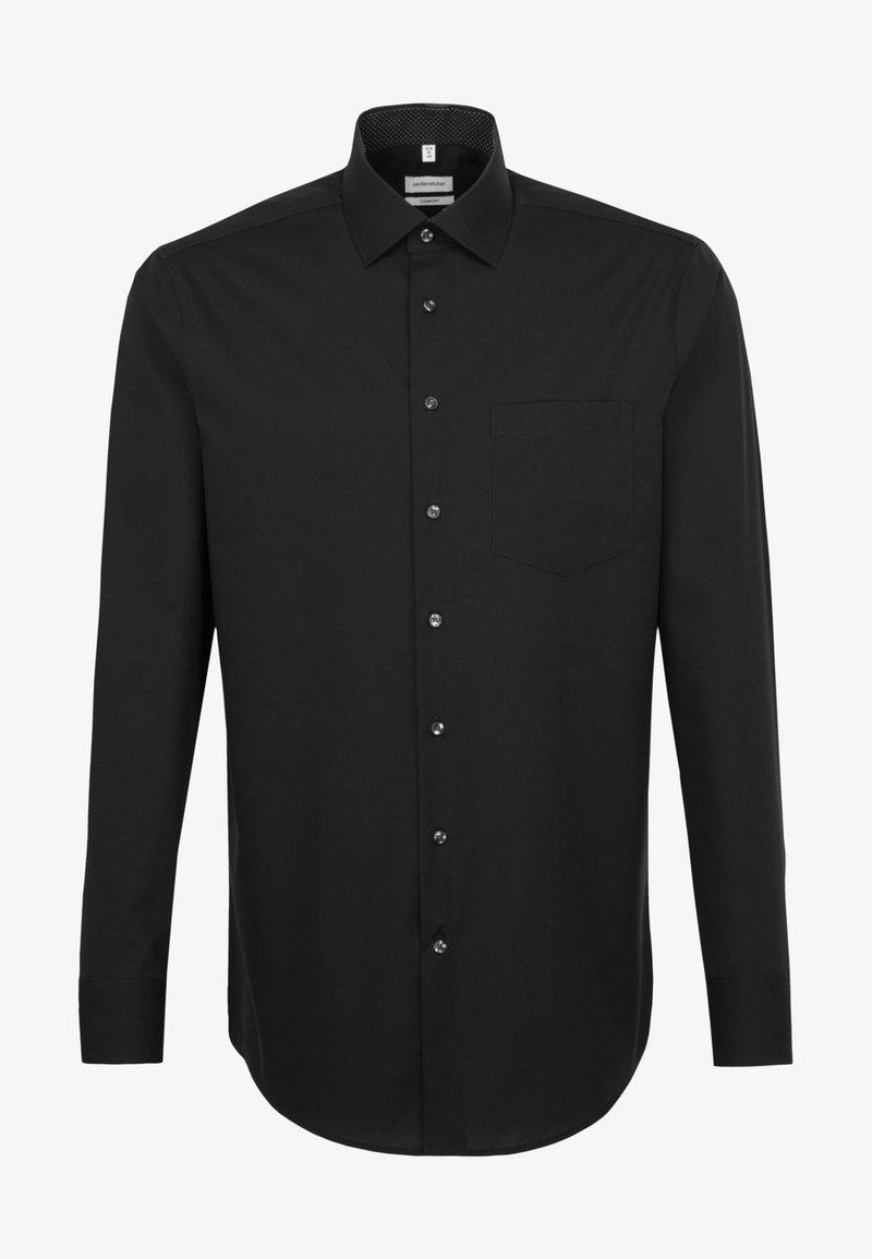 Seidensticker - COMFORT FIT - Formal shirt - black