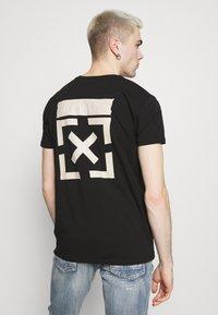 Kings Will Dream - GRINNON TEE - Print T-shirt - jet black - 2
