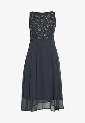 CRINKLED - Koktejlové šaty/ šaty na párty - navy