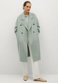 Mango - PICAROL - Klasyczny płaszcz - vert menthe - 1